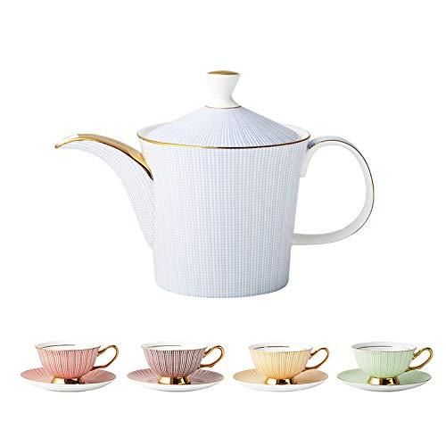 Porzellan Becher Keramik Kaffeetasse Teekanne Set Nachmittagstee Set Geschenkbox