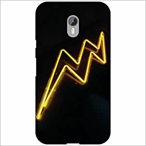 Moto G (3rd Generation) Back Cover - Silicon Abstract Designer Cases