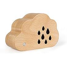 xytmy acabado de madera natural caja de música Fashion Creative Cloud diseño cumpleaños gifts-plays Tunes castillo en el cielo