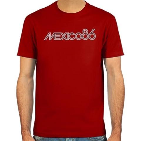 SpielRaum T-Shirt Mexico 86 ::: Farbauswahl: weiß, deepred, schwarz, oliv oder navy ::: Größen: S-XXL :::