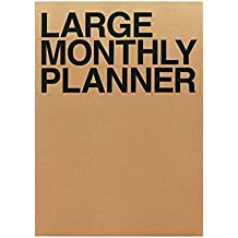 Jstory Large Personal Monthly Planner 14 Sheets Brown