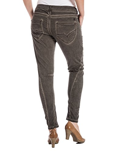 Timezone Damen Slim Hose RivaTZ fashion pants Braun (warm brown 6178)