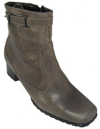 Ara 42508 Bologna-St Damen Stiefelette grau Leder Groesse Uk 6.5 ( EU 40 )