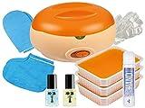 Premium SPA Pflege SET - PARAFFINBAD für Hände und Füße + reichhaltiges NagelPflege Zubehör