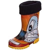 Toughees Shoes Kids Warm Fleece-sock Cat Wellies Wellingtons Boot