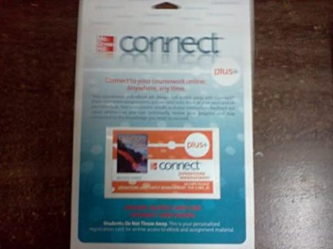 Operations and Supply Management Connect Plus Access Card: The Core