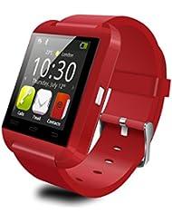 AsiaLONG U8 Bluetooth Smartwatch Fitness Smart Uhr Armband Fitness Tracker with Schrittzähler / Schlafanalyse / Stoppuhr / Barometer / Fern Fotografieren für Android Samsung S5/S6, Note 3, HTC, LG, Hinweis und Sony Android Smartphone