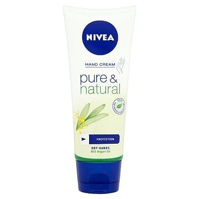 Nivea Pure and Natural Hand Cream, 100ml