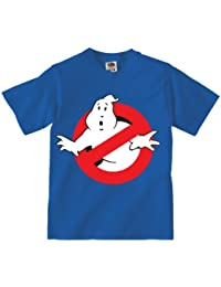 Ghostbusters Logo - Blue T-Shirt - Who Ya Gonna Call?