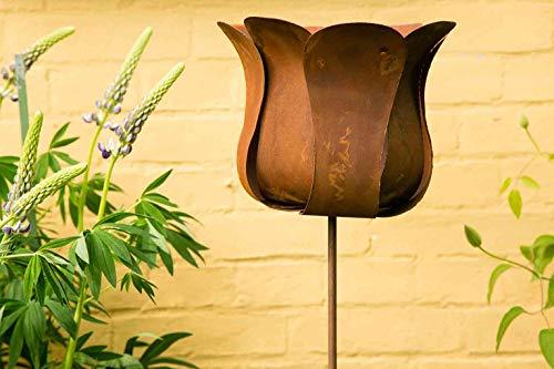 kuheiga Gartenstecker Tulpe Blume Höhe: 130cm - 3