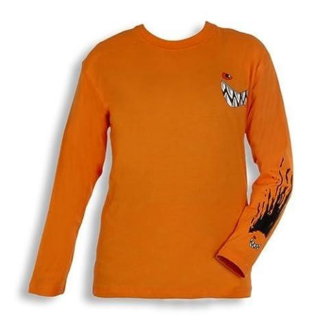 Wilde Kerle Longsleeve orange, Größe 164