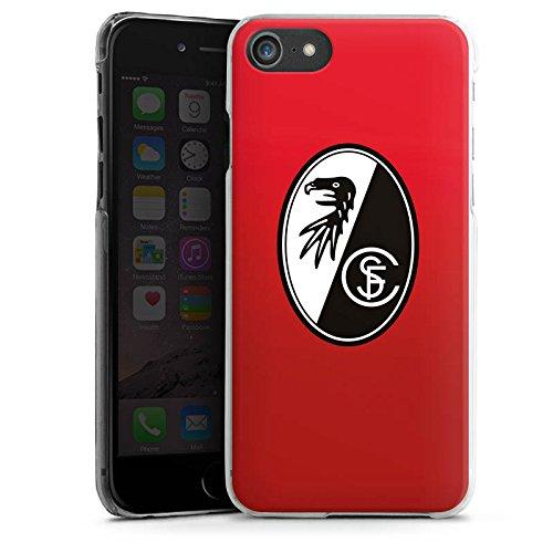 Apple iPhone X Silikon Hülle Case Schutzhülle SC Freiburg Fanartikel SCF Hard Case transparent