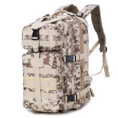 Dlflyb 35 L Neu 3P Angriff Taktik Rucksack Camouflage Bergsteigen Tasche Desert digital