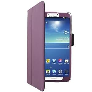 'Bestwe Schutzhülle Kunstleder Fuß integrierter kompatibel Samsung Galaxy Tab 37P3200, Mehrfarbig Violett Samsung Galaxy Tab 3; 20,3 cm (8 Zoll)