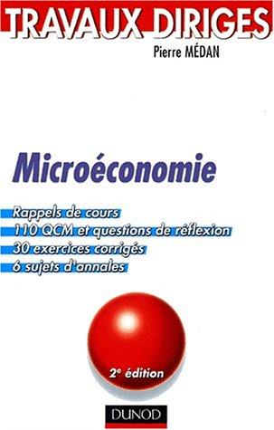 TD de microéconomie