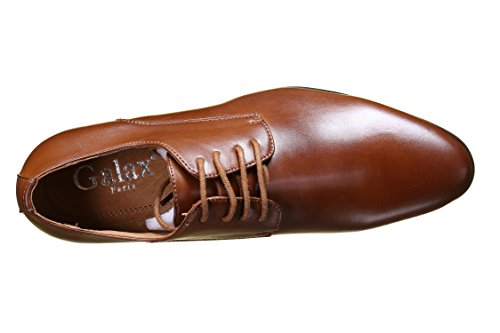 Galax - Chaussure Derbies Gh3063 Tan Camel Beige