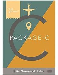 Passport Virtual Active - USB Stick, Pack C (USA, Neuseeland, Italien)