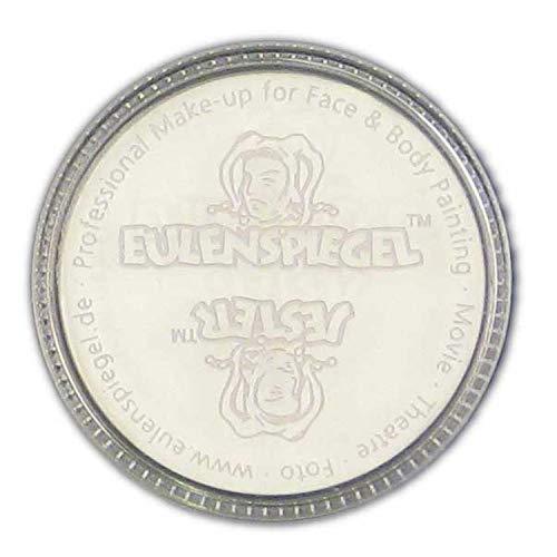 Eulenspiegel 501009 - Creme Schminke Weiߟ, 35 ml