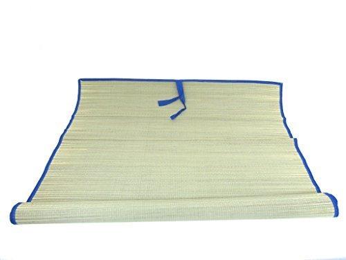 Icetek Sports MATB Stroh Strand Matte, Blau, 177,8x 88,9cm
