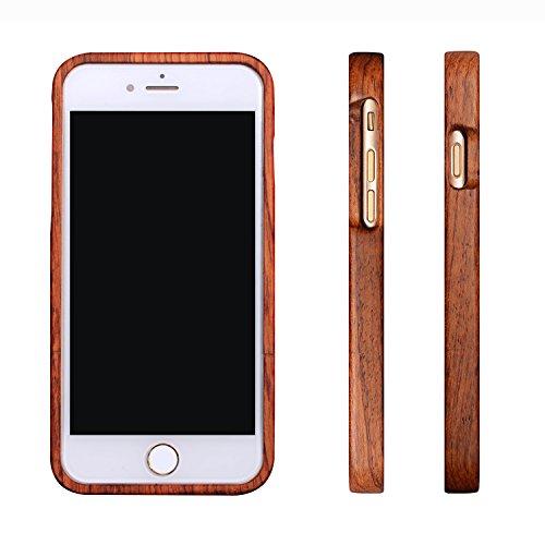 Retro cassa di legno fatti a mano per iPhone plus