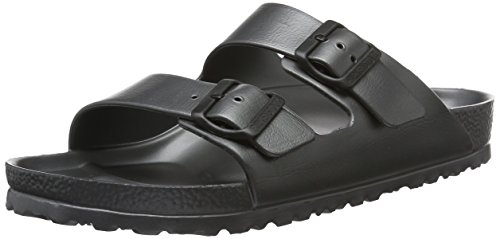 Birkenstock Unisex Adults' Arizona Eva Open Toe Sandals, Grey (Metallic Anthracite), 8...