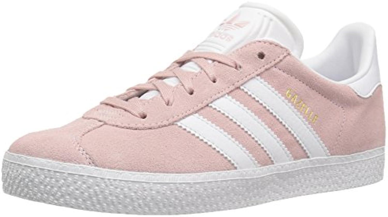 adidas Originals Girls' Gazelle C C C Sneaker, ICE Pink/White/Metallic Gold, 11.5 Medium US Little Kid a87477