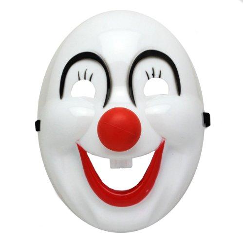 Der Clown Kindermaske Fasching und Karneval Maske (Joker Erwachsene Clown Maske)