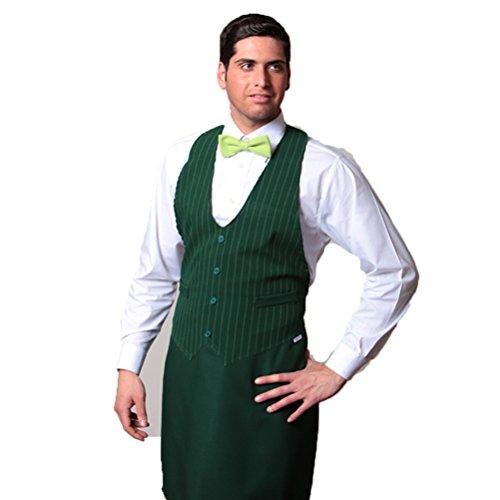 Grembiule pettorina divisa cucina ristorante gilet uomo sala pizzeria bar chef