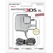Nintendo AC Adapter (UK 3 Pin) for New Nintendo 3DS, Nintendo 3DS, Nintendo 2DS, Nintendo DSi, Nintendo DSi XL
