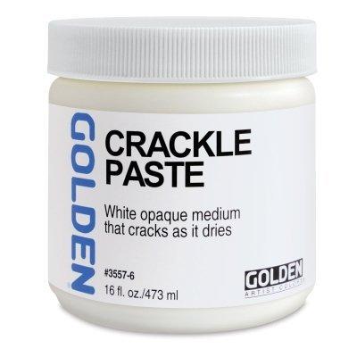 Golden Acrylique moyen : CRACKLE PASTE