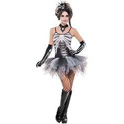 Disfraz de esqueleto sexy mujer Halloween - M