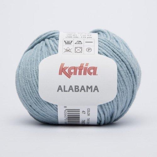 Katia Alabama - Farbe: Agua (47) - 50 g / ca. 105 m Wolle