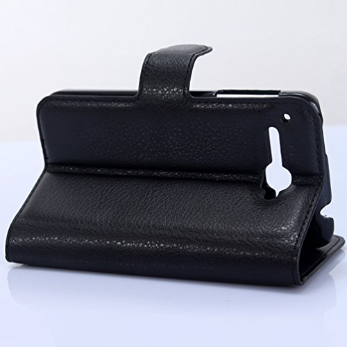 Manyip Téléphone Coque - PU Cuir rabat Wallet Housse [Porte-cartes] multi-Usage Case Coque pour pour Alcatel One Touch X pop OT5035D Classique Mode affaires Style(JFC2-8) C