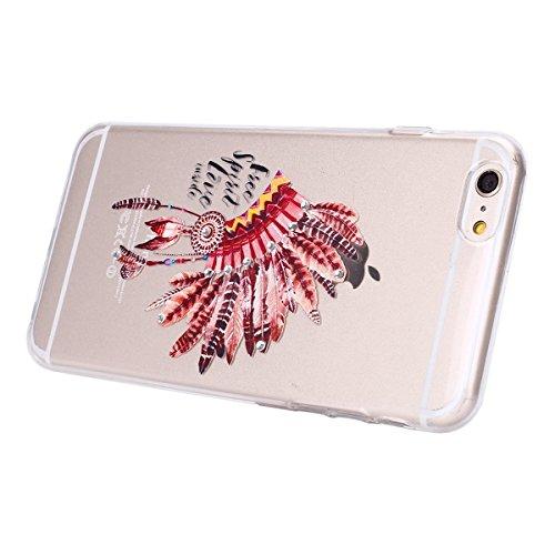 iPhone 7 Plus Clear Transparent Glitzer Case,Glitzer Transparent Hülle für iPhone 7 Plus,iPhone 7 Plus Crystal Clear Hardcase Case Hülle Liquid Gel Schutzhülle Etui für iPhone 7 Plus 5.5 Zoll,EMAXELER Feather 2