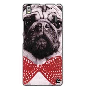 Designer Lenovo K3 Note Case Cover Nutcase - Pug in Bowtie