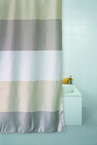 Duschvorhang STRIPES 180x180 cm Vorhang inkl. Ringe