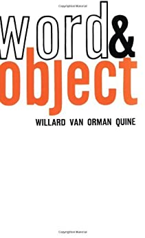 Word and Object (Studies in Communication) (MIT Press) von [Van Orman Quine, Willard]