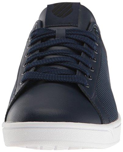 K-Swiss Herren Clean Court CMF Sneakers Schwarz(NAVY/BLACK/WHITE 445)