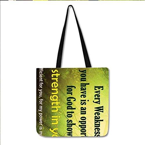 Babu Building Baumwolle Verwenden Sie Auf Bag Für Mädchen Design Bible Quotes Sichern Choose Design 3-3