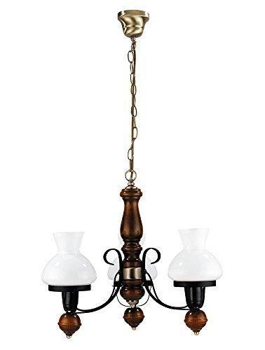 landhaus-bisterbraun-ceiling-light-3-x-12-watt-led-energy-saving-pendant-light-in-country-style