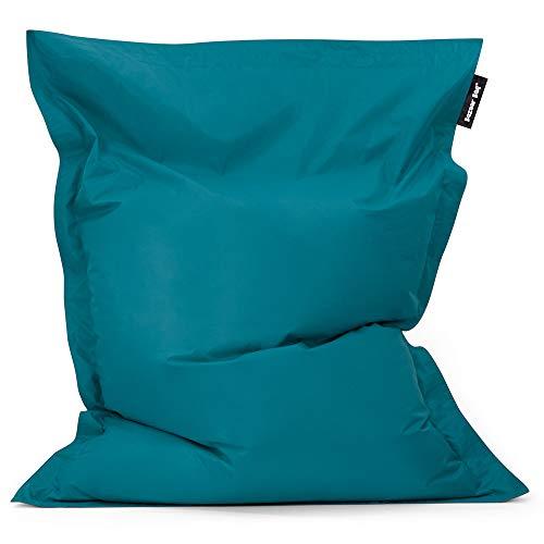 Bean Bag Bazaar Bazaar Bag - Verde Azulado, 180cm x 140cm, Puf Gigante