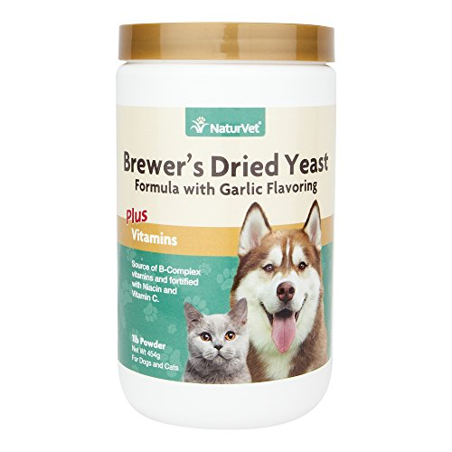 NaturVet BREWER'S Dried Yeast Formula Powder for Dogs and Cats .45 kg