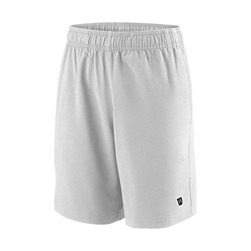 Wilson B Team Jungen 7 Shorts, Weiß, L, WRA767401LG