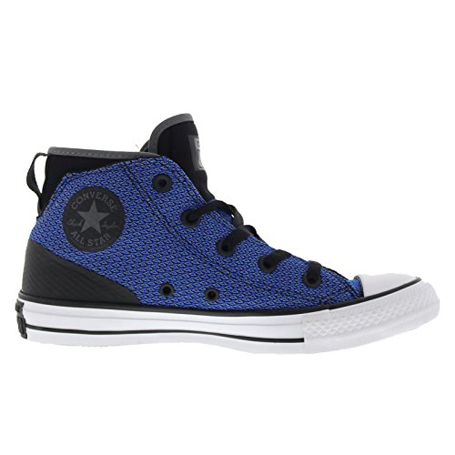 Converse Womens Chuck Taylor All Star Syde Street Mid Mesh Trainers Black Blue