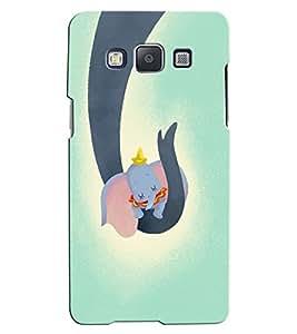 Citydreamz Elephants/Abstract/Cute Love/Cartoon Hard Polycarbonate Designer Back Case Cover For Samsung Galaxy A8