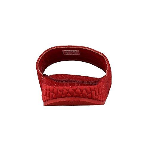 adidas Sandalen – Adilette rot/schwarz/golden Größe: 42 -