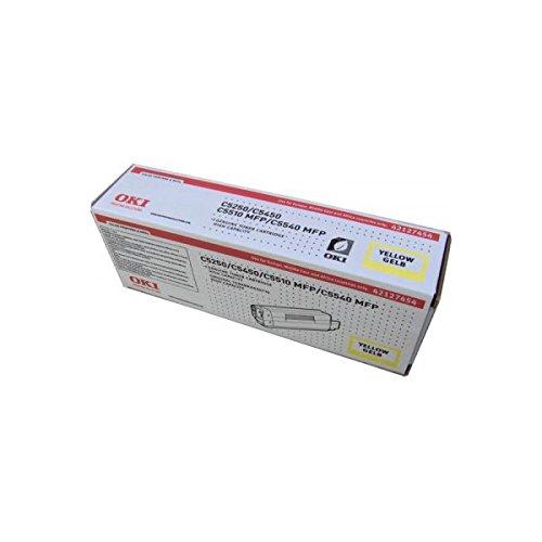 Preisvergleich Produktbild OKI 42127454 C5250, C5450, C5510MFP, C5540MFP Tonerkartusche 5.000 Seiten, gelb