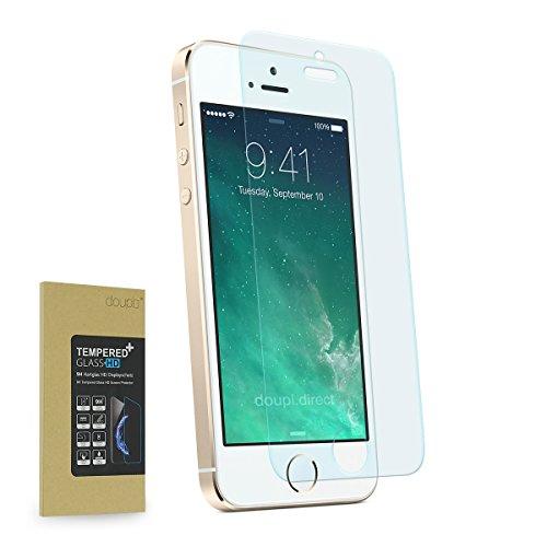 �r iPhone SE / 5S / 5C / 5, Premium 9H Hartglas HD Display Schutz Glasfolie ()