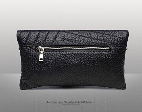 Home Monopoly Sacchetto di mano di modo della borsa della borsa sacchetto di grande capacità del pacchetto / con la cinghia di spalla, mano trasporta trasporta ( Colore : Nero ) Grigio