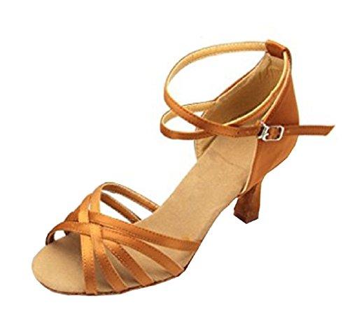 INCEPTION PRO INFINITE ® - Scarpe da ballo latino-americani donna ballroom WY-032 (39 EU = 38 ITALIANA)